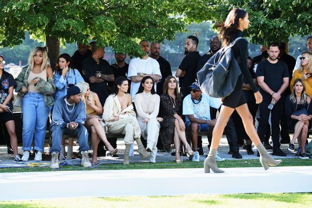 Kanye West's Yeezy Season 4 fashion show