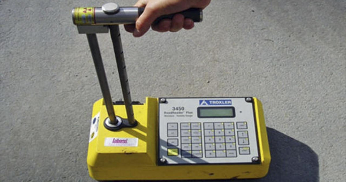Nuclear Density Meter : Nuclear gauge reported stolen in west virginia cbs news