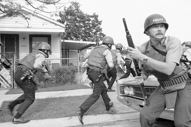 406fe456f4f Raid on Black Panthers headquarters - The way it was: Today in history -  September 15 - Pictures - CBS News
