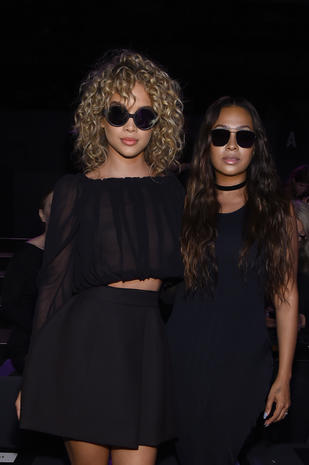 Celebrities take on New York Fashion Week Spring 2017