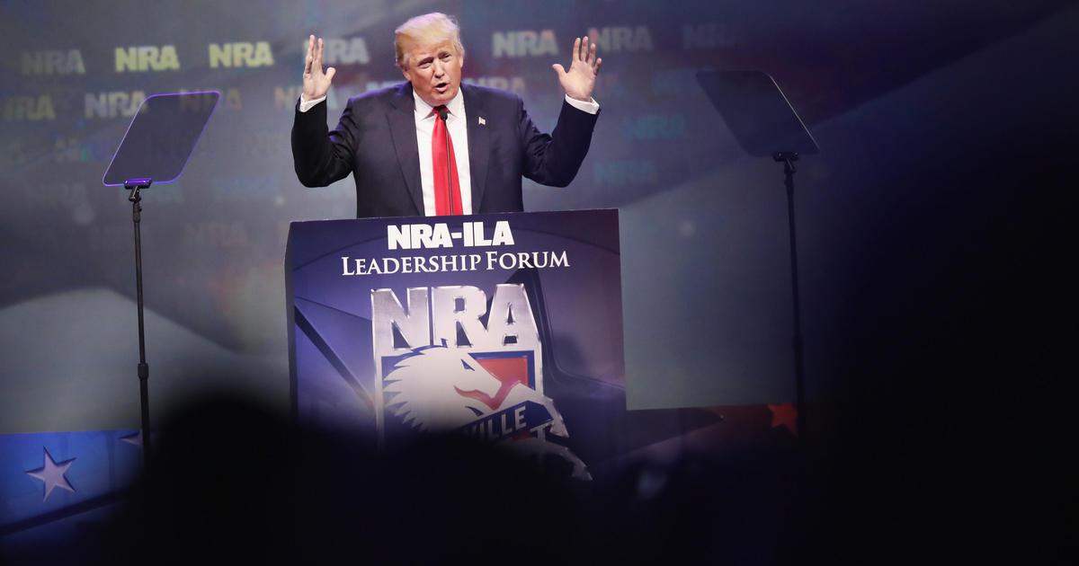 Where Donald Trump stands on gun control