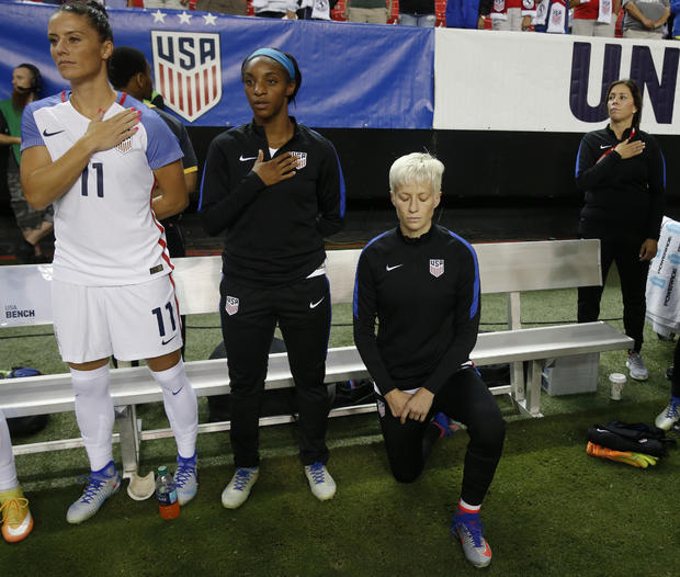 Megan Rapinoe reveals her dad voted for Donald Trump