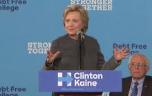Hillary Clinton wooing Bernie Sanders' young supporters