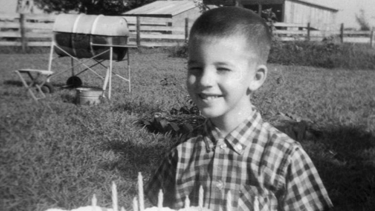 Bernie Tiede as a boy