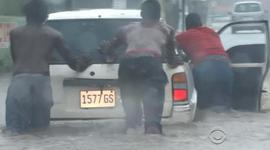 Haiti and Cuba in Hurricane Matthew's path