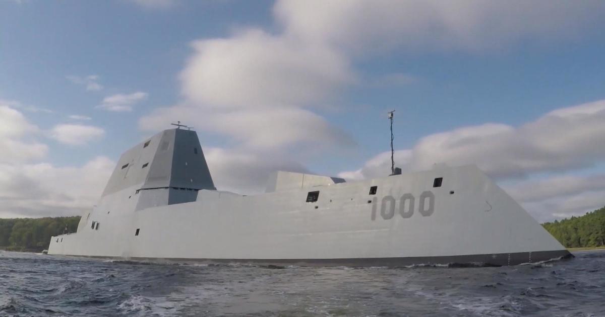 on board the uss zumwalt the navy s brand new 4 billion