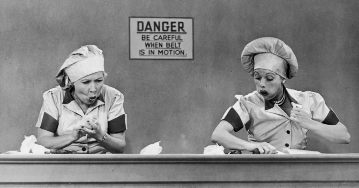 Image result for silly i love lucy