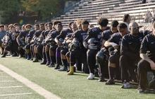 Wash. H.S. football team adopts anthem protest over inequality