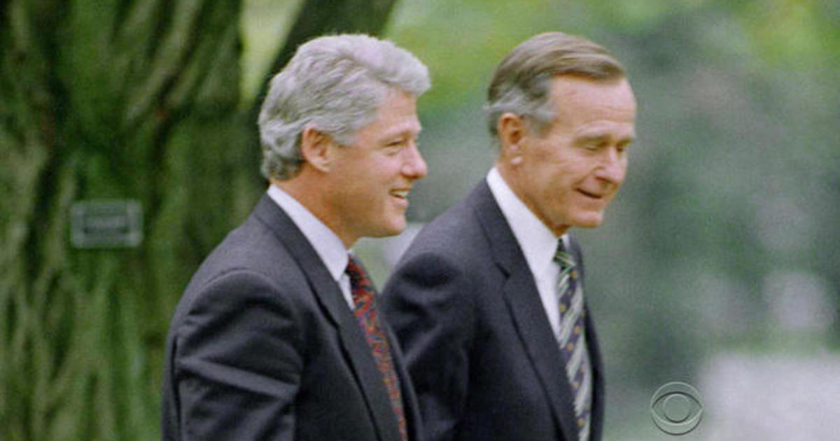 George HW Bushs Letter To Bill Clinton Goes Viral
