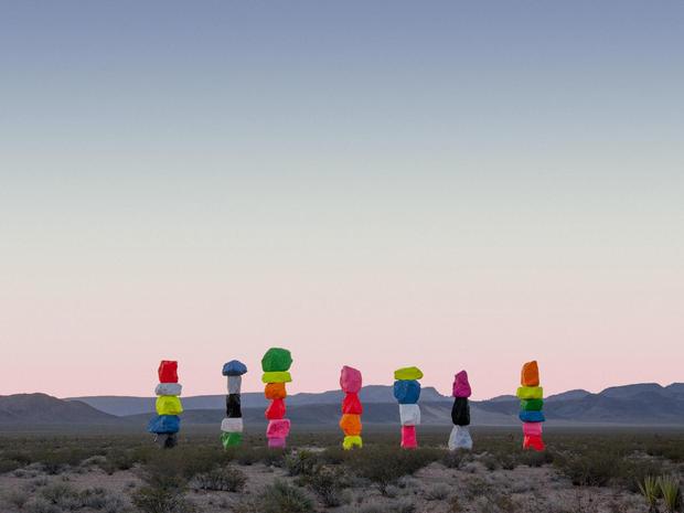 Art in the Nevada desert