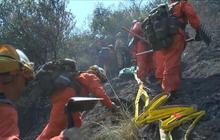 California inmates join fight to put out wildfires