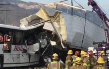 Tour bus crash kills 13, injures dozens
