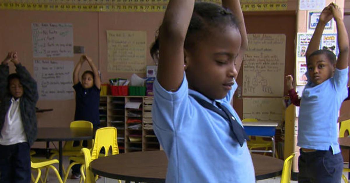 Baltimore students get meditation, not detention