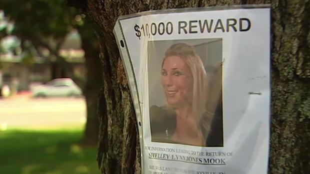 Shelley Mook reward poster