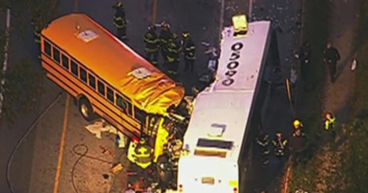 6 killed, 10 injured after school and city bus collide in