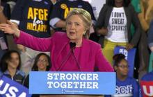 Hillary Clinton holds second N.C. rally