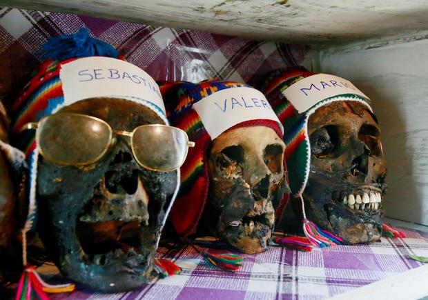 Bolivia's skulls festival