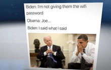 Biden, Obama memes have the internet in hysterics