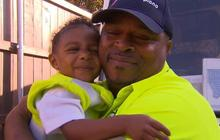 Heartwarming friendship between a 2-year-old and his garbage man
