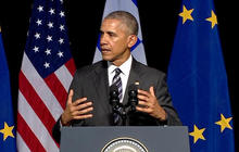 President Obama tries to reassure Europe about successor