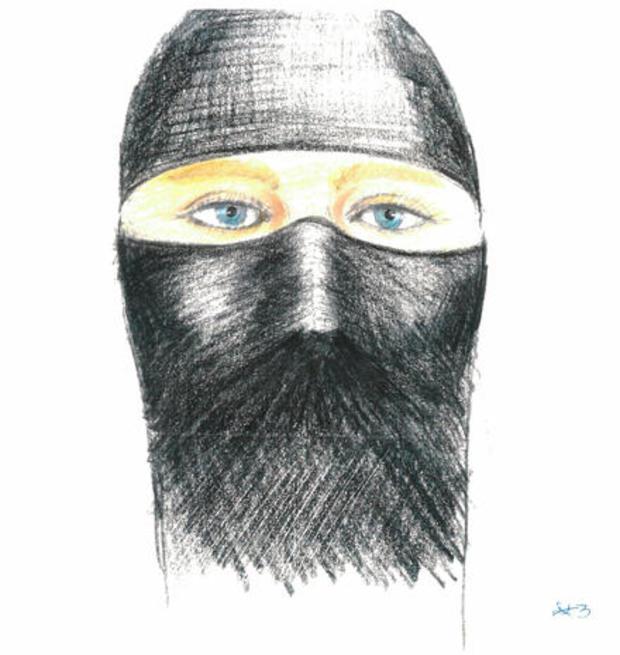 Sketch of Colorado rape suspect