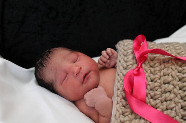 Sofia Victoria Gonzalez Abarca, a week-old baby who went missing in Wichita, Kan., is seen in this photo provided by the Wichita Police.
