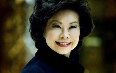 Trump picks Elaine Chao as transportation secretary