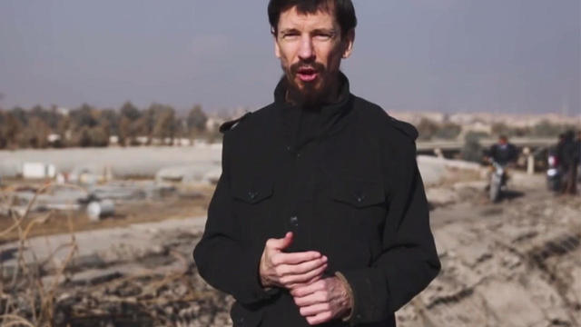 British journalist and ISIS hostage John Cantlie