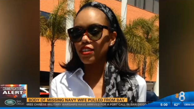 Navy Husband Arrested After Missing Wife's Body Found In San Diego Bay