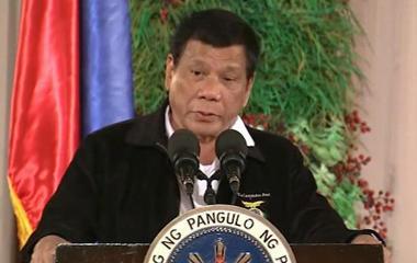 Philippines president recalls conversation with Donald Trump
