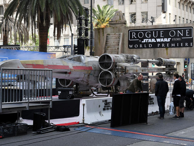 """Rogue One"" red carpet"