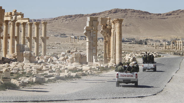 The destruction of Palmyra by ISIS