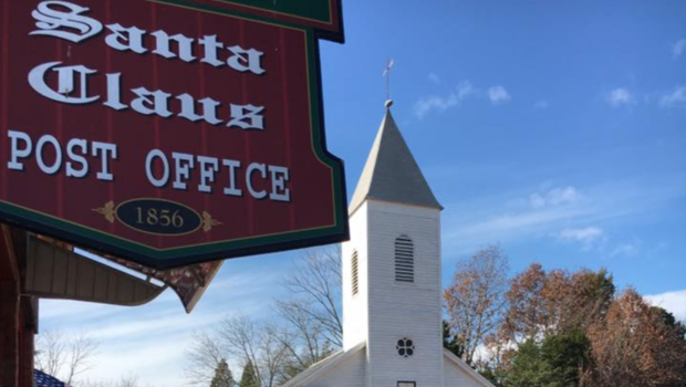 In The Small Town Of Santa Claus Indiana Christmas Is Year Round Cbs News