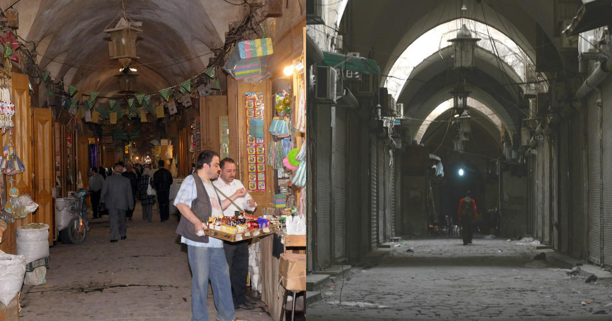 Aleppo photos pictures of aleppo Aleppo: Before and after images - BBC News - m