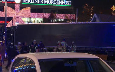 Truck rams into Berlin Christmas market, killing at least nine