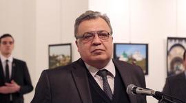 Russian Ambassador to Turkey gunned down at photo exhibit in Ankara