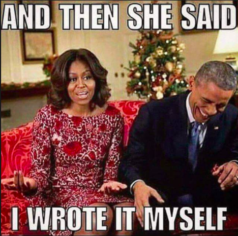 Too funny, Michelle - Hilarious Barack Obama memes - Pictures - CBS News