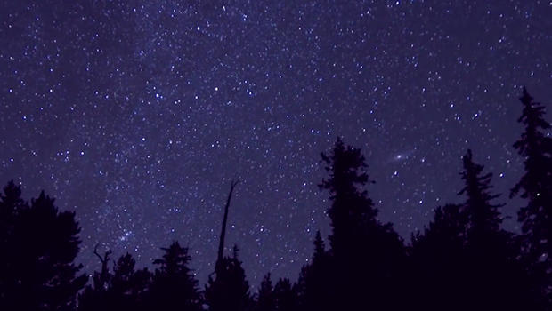 on the trail the brilliance of the night sky cbs news