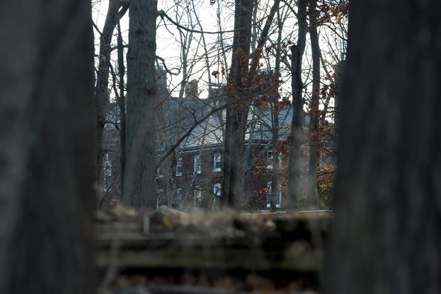 A Russian compound, which was ordered to be closed and vacated, is seen in Upper Brookville, Long Island, New York, on Dec. 30, 2016.
