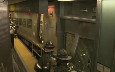 LIRR train crash in NYC injures more than 100 people