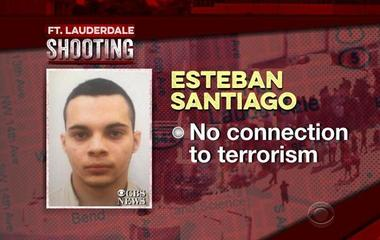 What motivated alleged Fort Lauderdale airport shooter?