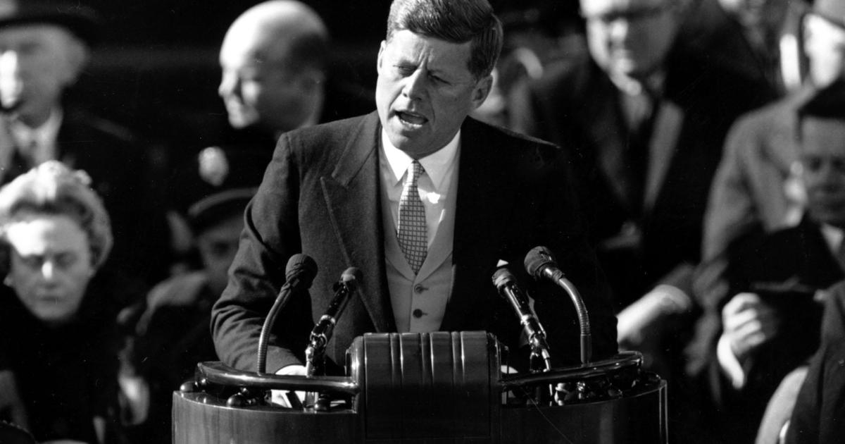 jfk inaguarl address Inaugural addresses of the presidents of the united states heavy snow fell the night before the inauguration, but thoughts about cancelling the plans were overruled.