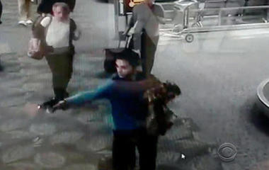 New video shows moment Fla. gunman opened fire