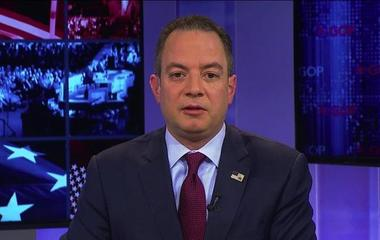 """Priebus says DNC """"sat there like a sitting duck"""""""