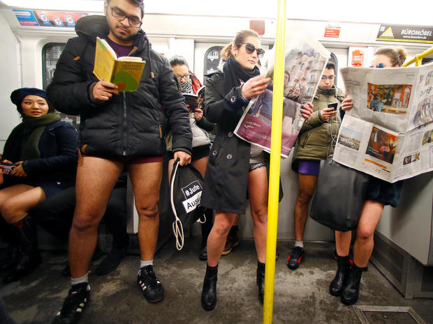 No Pants Subway Ride 2017