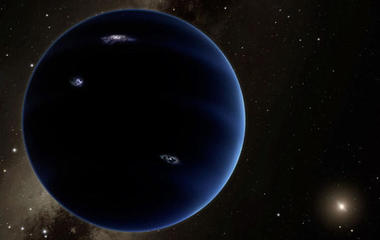 The solar system's mysterious, undiscovered Planet Nine