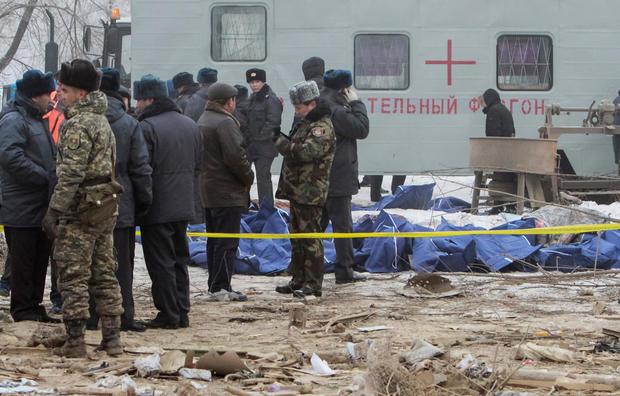 Plane crash destroys Kyrgyzstan village