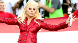 Lady Gaga gives fans a Super Bowl sneak peek