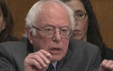 Sanders to HHS nominee: Is Trump lying about medicaid?
