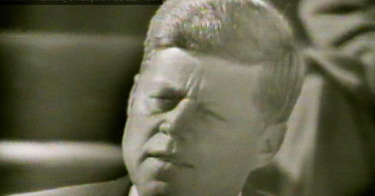 john f kennedy's inaugural address blizzard